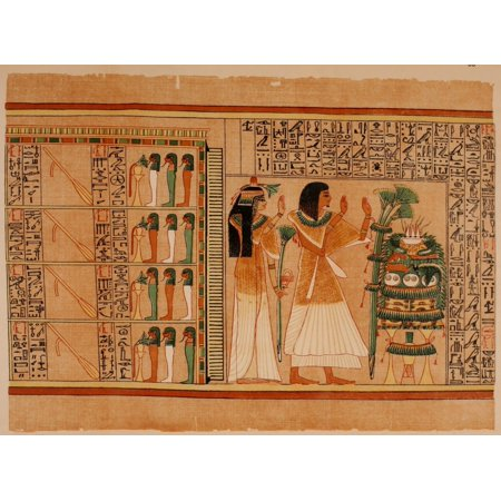 Ancient The Papyrus of Ani 1913 33 Poster - Adult Ani