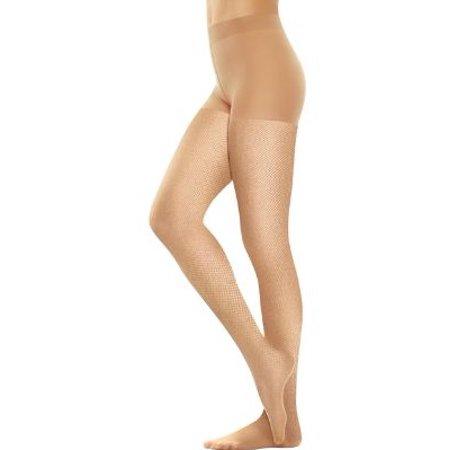 bb5b3f140 Hanes - Perfect Nudes Micro-Net Control Top Pantyhose - Walmart.com