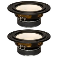 "2 Goldwood Sound GW-S650/4 Poly Cone 6.5"" Woofers 170 Watts each 4ohm Replacement Speakers"