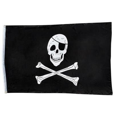Pirate Skull 3x5 Ft Flag - Play Kreative TM (PIRATE SKULL)