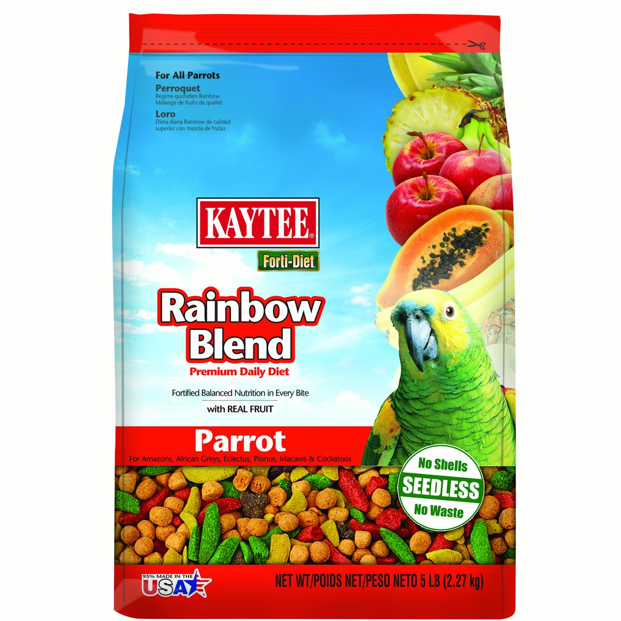 Forti Diet Rainbow Blend Parrot Food 5lb