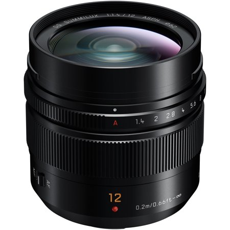 Panasonic Lumix G 12mm f/1.4 Leica DG Summilux ASPH Lens 12mm Lens Bullet Housing