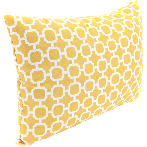 Rectangle Outdoor Toss Pillow, Hockley Bannana