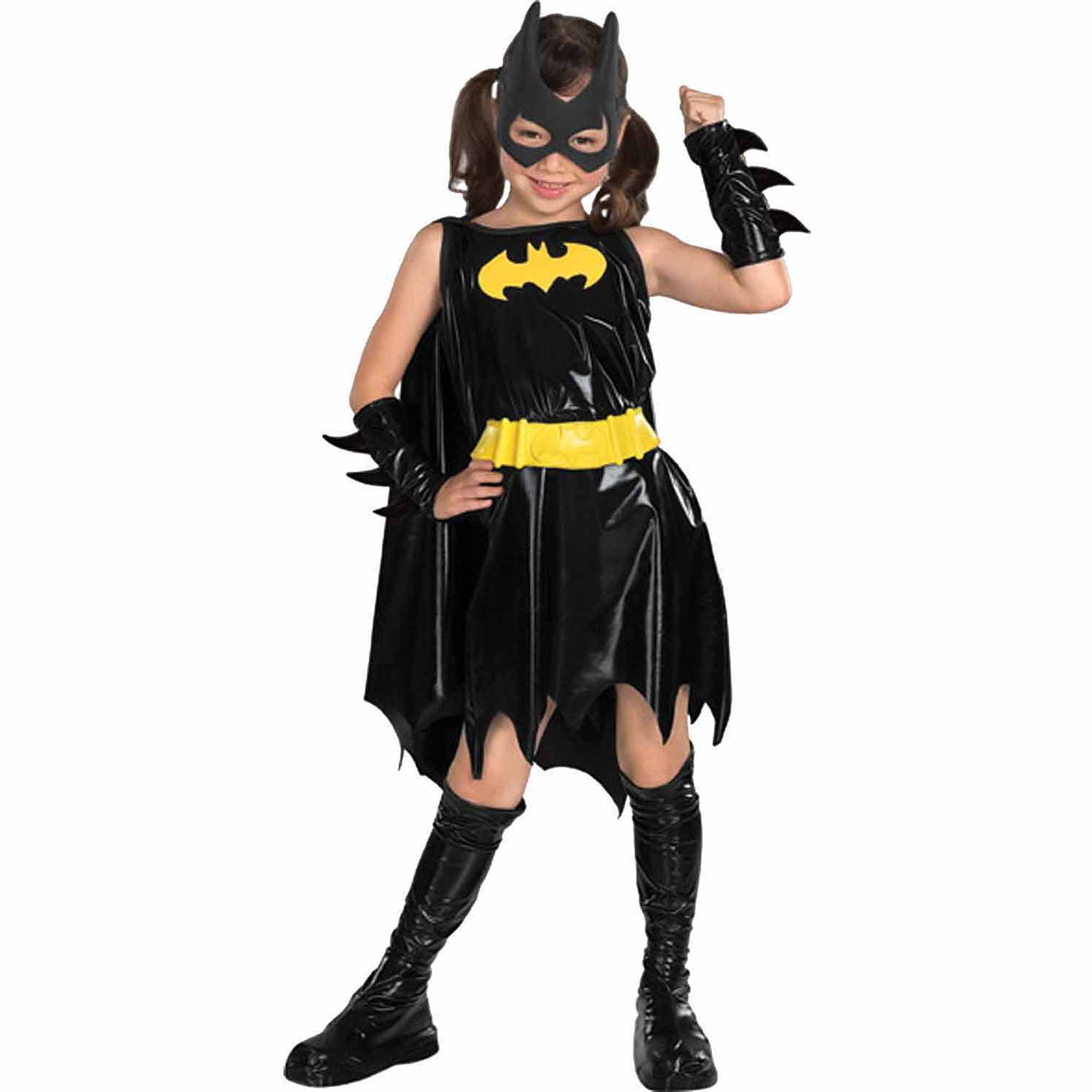 sc 1 st  Walmart & Girlsu0027 Batgirl Costume - Walmart.com