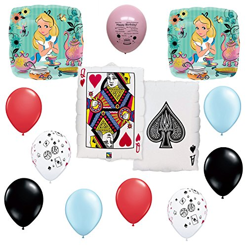 Alice in Wonderland  Party Supplies Balloon Decoration set by Anagram