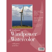 "Strathmore Watercolor Windpower Paper Pad, 9"" x 12"""