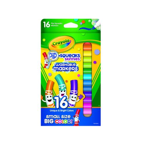 Crayola Pip-Squeaks Washable Markers 16 ea (Pack of 6)