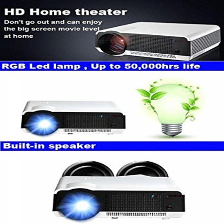 Gowe Full HD 200W LED lamp 3500Lumen 1280*800 Professional multimedia Home cinema LED