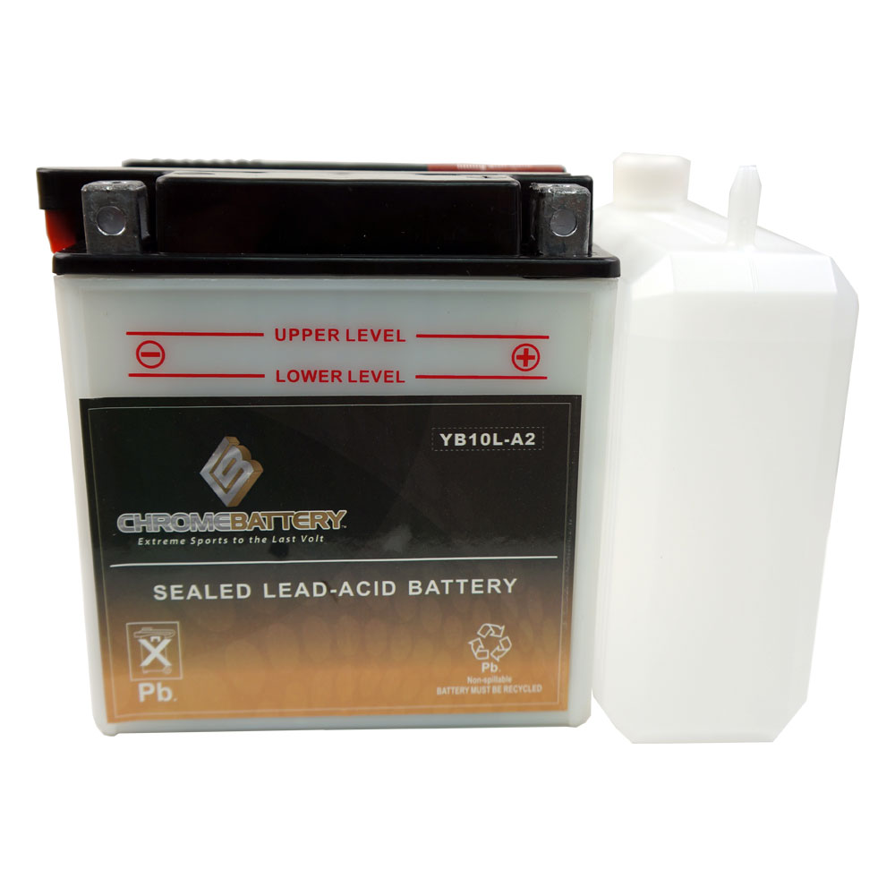 YB10L-A2 Motorcycle Battery for YAMAHA XV250YCR V Star 250 Year (09-17)