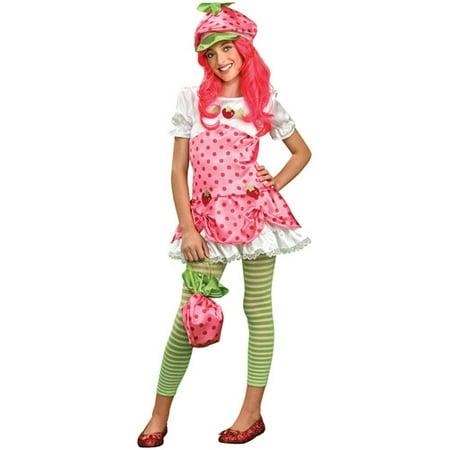 Strawberry Shortcake Tween Halloween Costume](Tween Girl Halloween Party Ideas)