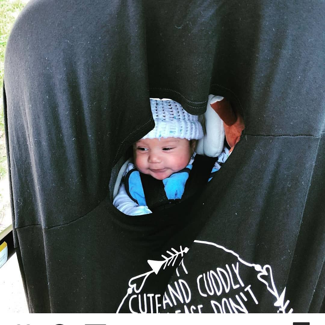 /Im Cute /& Cuddly But Please Dont Touch Little Me Car Seat 5 in 1 Cover