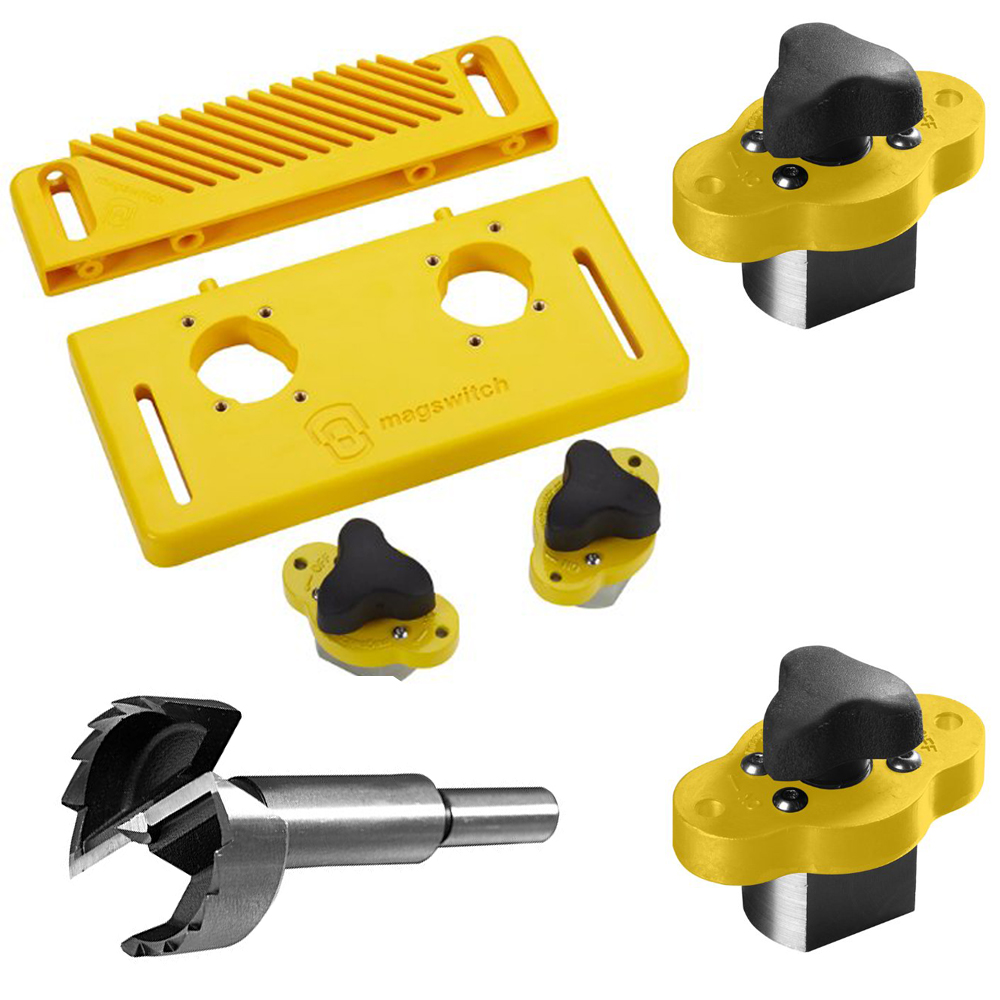 Magswitch Starter Kit w/ MagJig 95 (2-Pack) & 30mm Forstner Bit