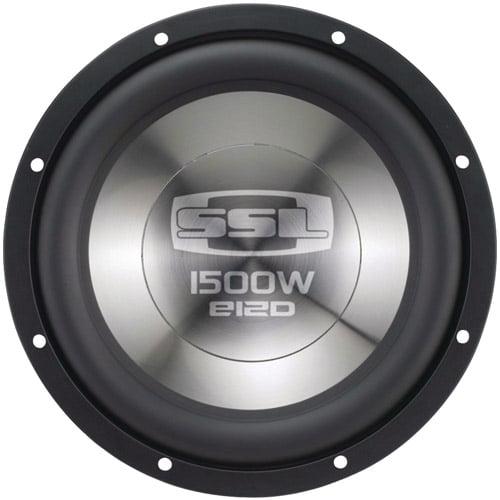 """Soundstorm E12D 12"""" 1500W E Series Subwoofer"""