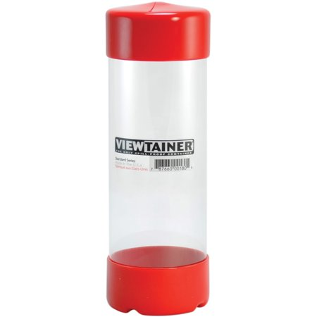 "Viewtainer Slit Top Storage Container 2.75""X8""-Red - image 1 of 1"