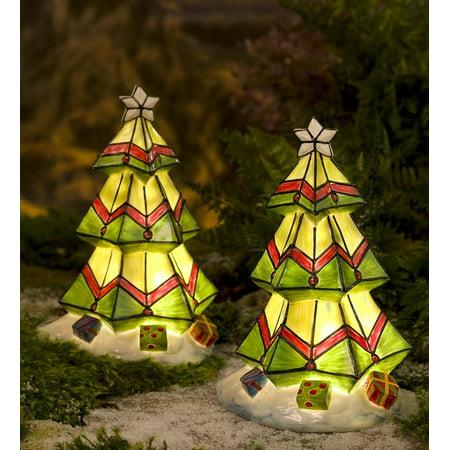 wind weather colorful solar christmas tree - Solar Christmas Tree