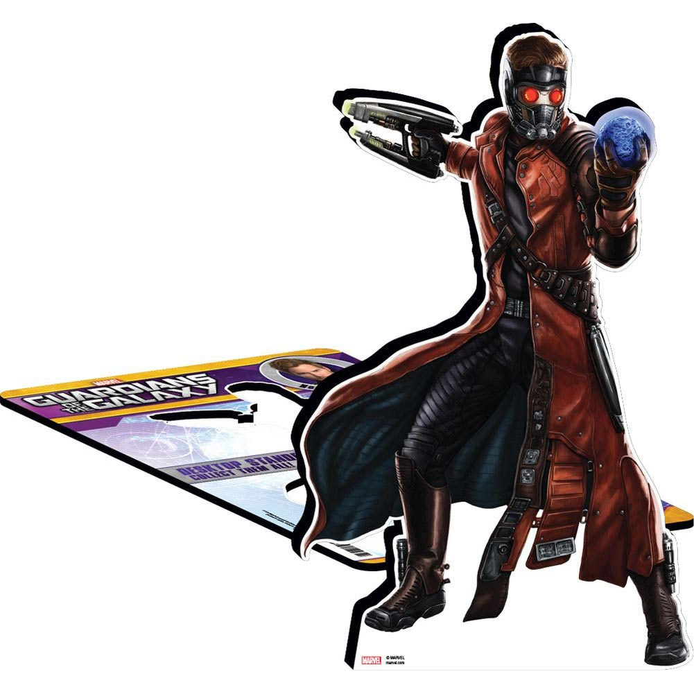 Guardians of the Galaxy Star-Lord Desktop Standee,  by NMR Calendars