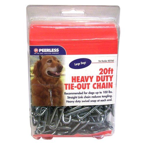 Peerless 20' Heavy-Duty Dog Tie-Out Chain
