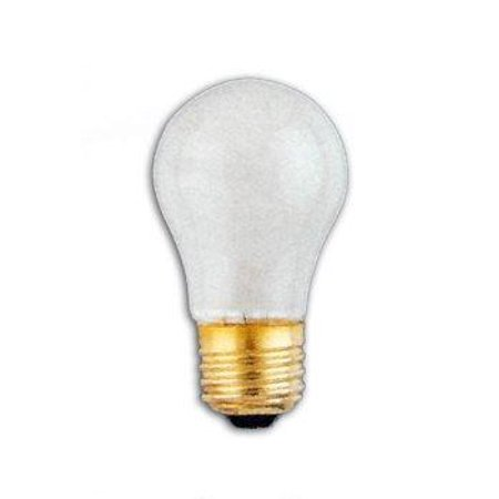 SLI Lighting 60502 15A15/FR Inside Frost Appliance Light Bulbs 15 Watts 4 (Inside Frosted Light Bulb)