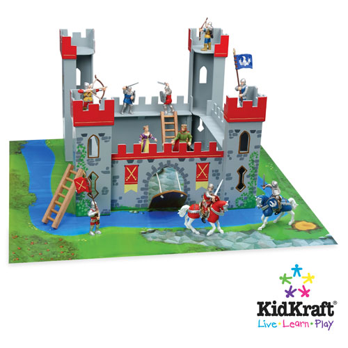 Medieval Castle Playset - Slot Construction
