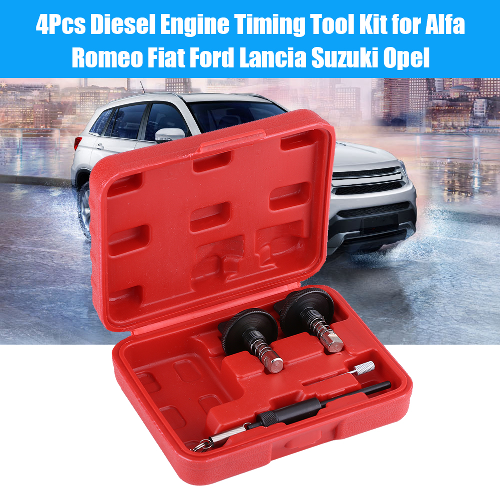 Engine Timing Tool4pcs Diesel Locking Tool Kit For Alfa Romeo Chain Fiat Ford Lancia Suzuki Opelengine