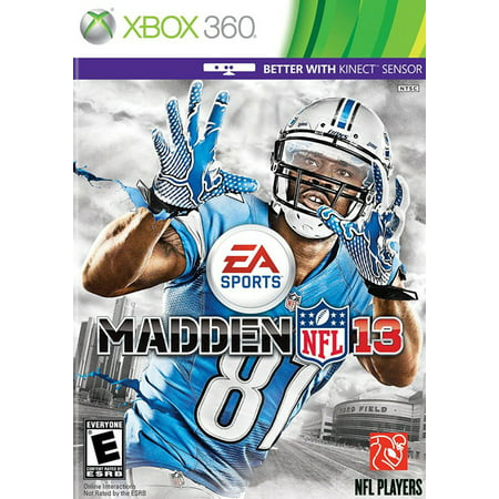 Refurbished Madden NFL 13 For Xbox 360 Football (Xbox 360 Official Nfl)