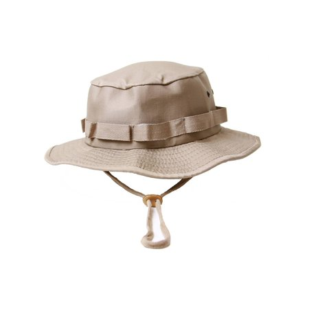 86d847ed Military Boonie Hat with Drawstring Boonie Hat -(Many Colors), L, Woodland  zoomed image