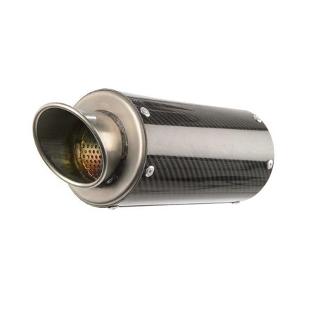 Hotbodies Racing 41602-2414 MGP Growler Full System Exhaust - Low Mount - Carbon Fiber Muffler