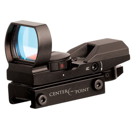 CenterPoint Optics Sight 32mm Open, RG 4 Reticles (Walther Ps 55 Red Reticle Point Sight)