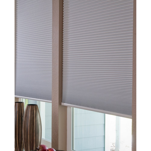 No-Tools, Easy-Lift, Trim-at-Home, Cellular, Blackout Shade, White