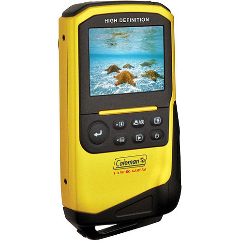 Coleman Yellow Xtreme Full 1080p HD Underwater Camcorder