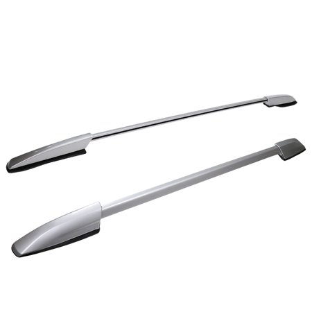 Spec-D Tuning For 2008-2013 Toyota Highlander Aluminum Factory Style Roof Rack Side Rails Pair 2008 2009 2010 2011 2012 2013