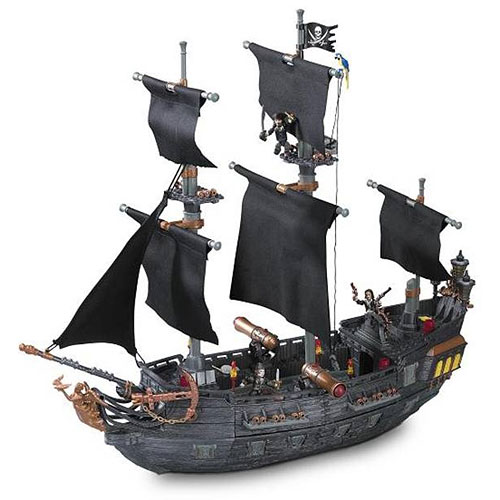 Mega Bloks Pirates of the Caribbean: Black Pearl Ship Pla...