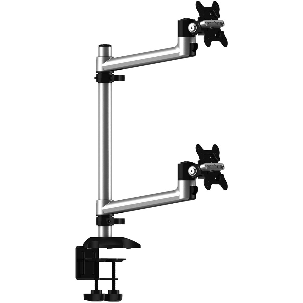 Cotytech Dual Monitor Desk Mount for Apple w/ 2-in-1 Base...