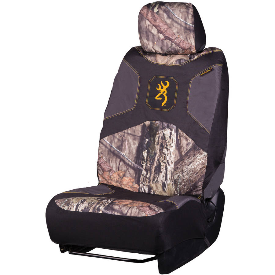 Browning Low Back Seat Cover, Mossy Oak Country
