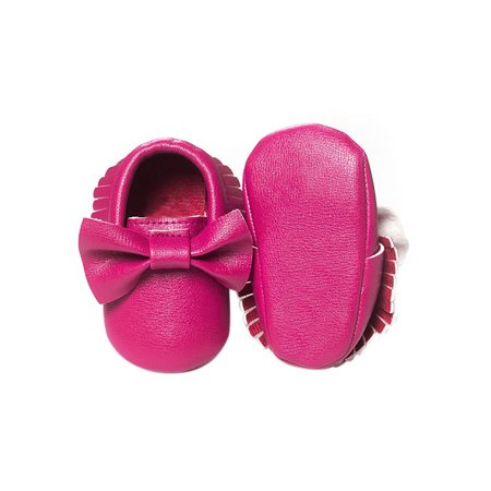 5e492d849540 BOBORA - BOBORA Newborn Baby Soft Sole Leather Crib Shoes Anti-slip  Prewalker 0-18 Months - Walmart.com