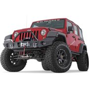 Elite Series Front Jk Jeep Bumper with Grill Guard Tube