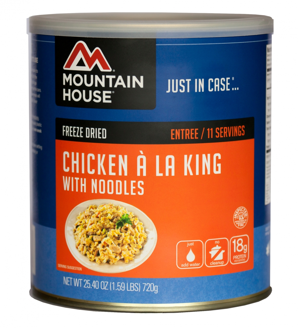 Mountain House (6 Pack) Chicken a la King Main Entree #10 Can by Mountain House