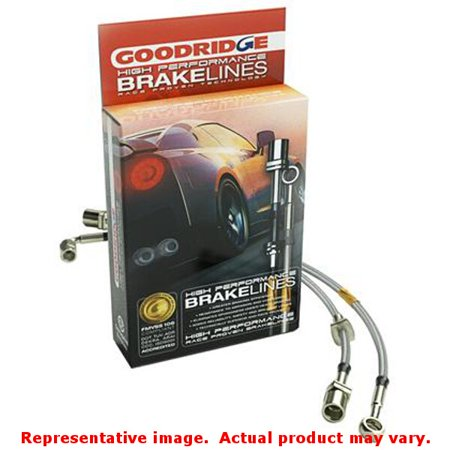 Goodridge G-Stop Brake Lines 21080 Fits:TOYOTA 1985 - 1987 COROLLA SPORT GTS  F
