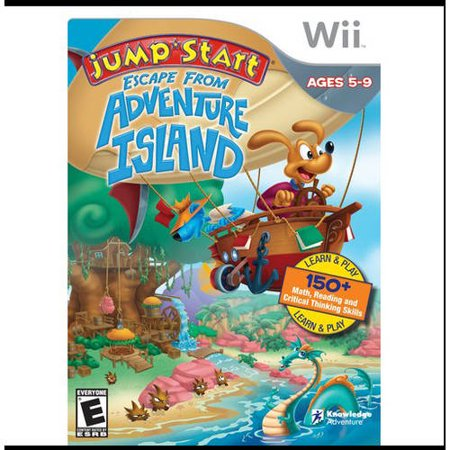 Image of Jumpstart Escape Adv. Islnd (Wii) - Pre-Owned