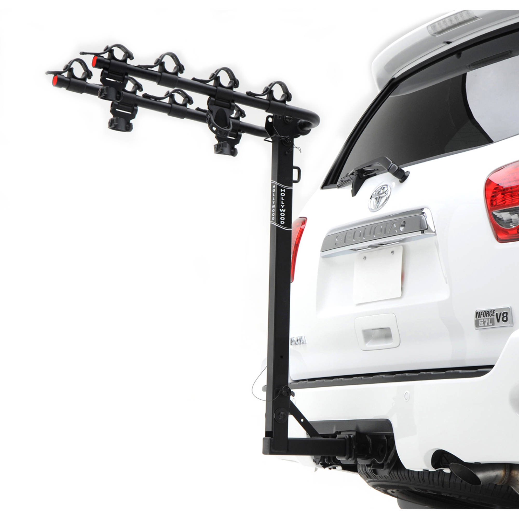 "Hollywood Racks Traveler 4-Bike Bike Rack, 2"" Hitch"