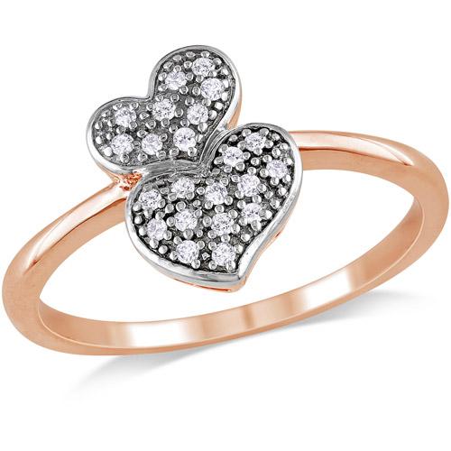Miabella 1/10 Carat T.w. Diamond Heart R
