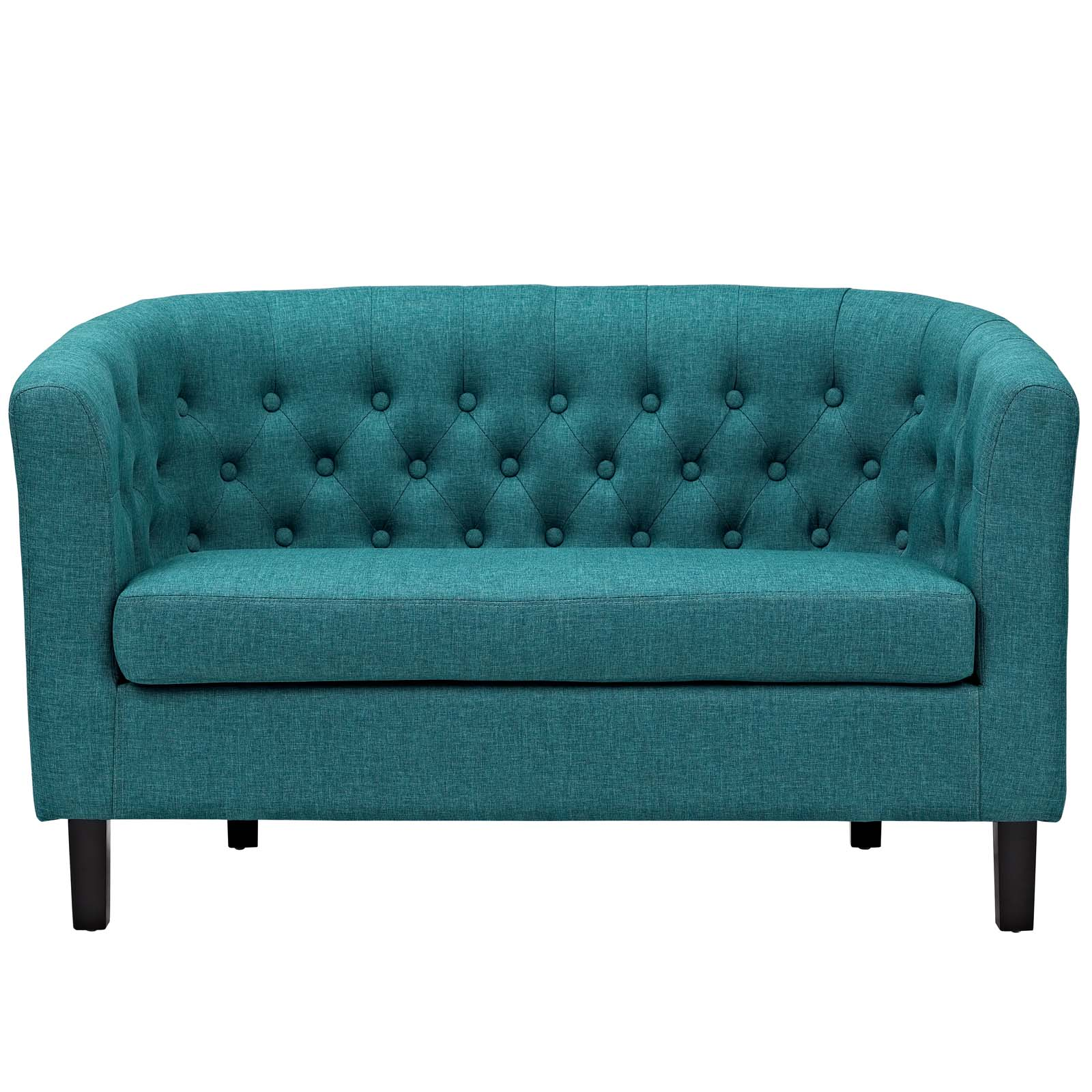 Modway Prospect Upholstered Fabric Loveseat, Multiple Colors