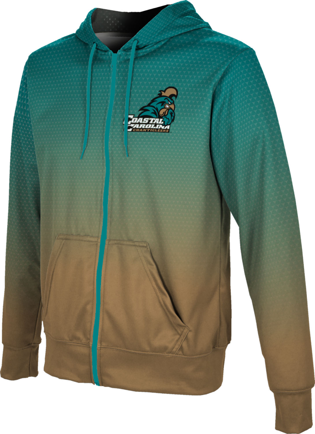 ProSphere Boys' Coastal Carolina University Zoom Fullzip Hoodie