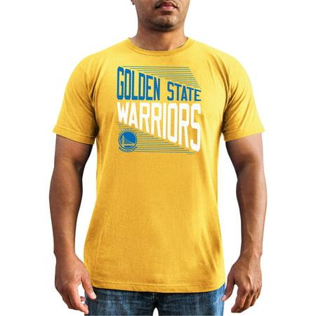 Nba Golden State Warriors Mens Classic Attitude Short Sleeve Basic Tee