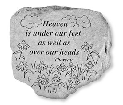 Kay Berry- Inc. 63020 Heaven Is Under Our Feet Garden Accent 11 Inches x 10 Inches By Kay... by