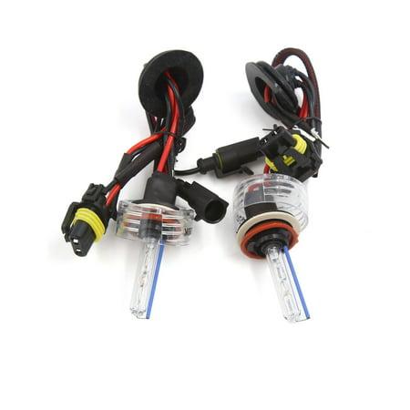 2 Pcs Dc 12V 8000K H11 Hid Xenon Replacement Bulb Light Lamp For Auto Car