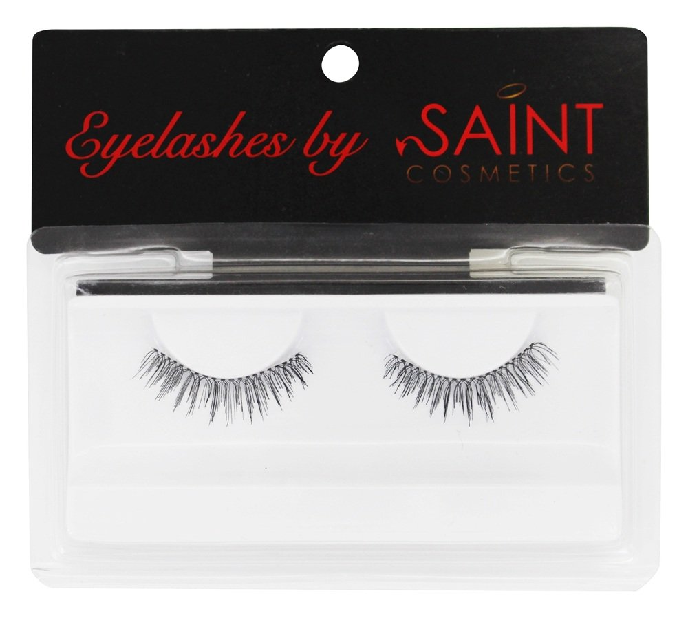 Saint Cosmetics Natural False Eyelashes Sky Pack Of 6 Walmart