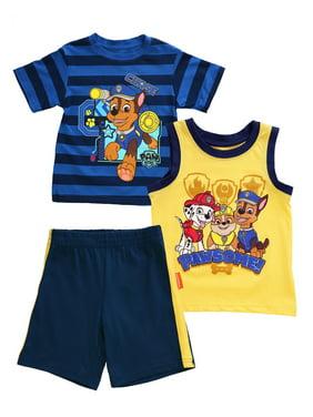 850f729e Product Image Toddler Paw Patrol Chase Pawsome 3 Piece Boys Set