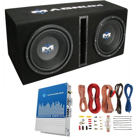 Wondrous Mtx Magnum Mb210Sp 10 400W Rms Dual Car Loaded Subwoofer Box With Wiring 101 Capemaxxcnl