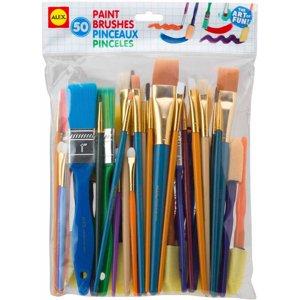 ALEX Toys Artist Studio Paint Brushes Set of 50
